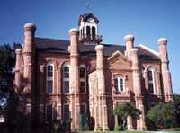 Shelby County courthouse in Center, Texas