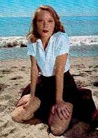 young Sissy Spacek post card