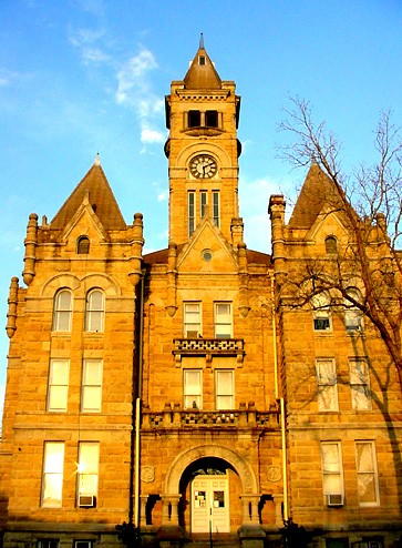 Hallettsville TX - 1897 Lavaca County Courthouse