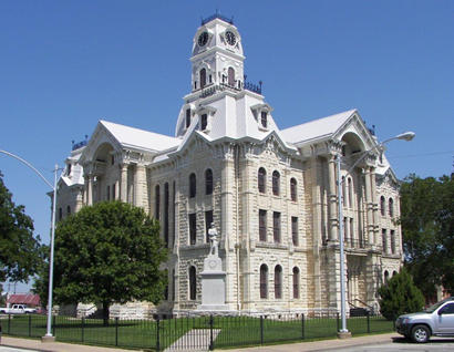Hill County courthouse, Hillsboro, Texas