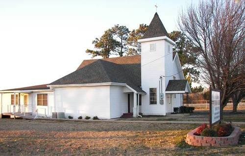 St. James Lutheran Church NW of Honey Grove  Texas