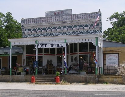 Hye Texas post office and store