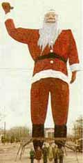 Big Tex as Santa