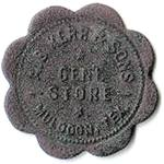 Muldoon Texas A.B. Kerr and Son Store token front