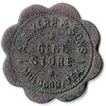 Muldoon Texas A.B. Kerr and Son Store token back