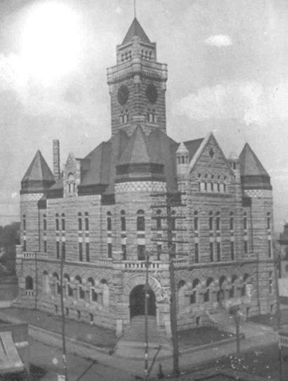 Lamar County Courthouse, Paris Texas.