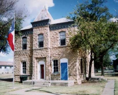 Quanah Texas Former Hardeman County Jail