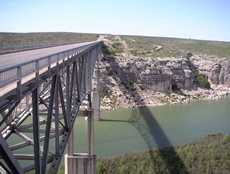 The Pecos Rivdr Bridge