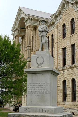 Hill County Courthouse Hillsboro Texas