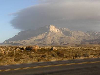 Guadalupe Peak from US180