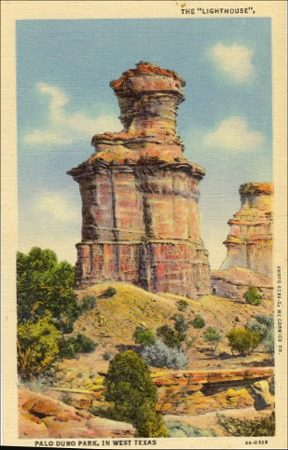 The  Lighthouse, Palo Duro Park, West Texas