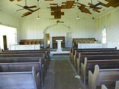 Jermyn TX - First Methodist Church Interior