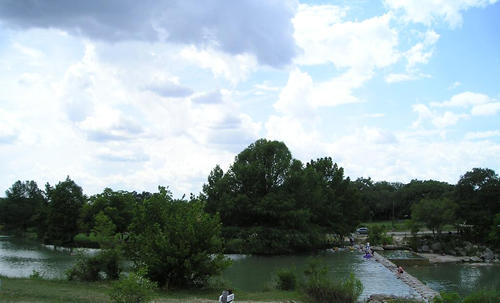 TX - Blanco State Park Swimming Hole