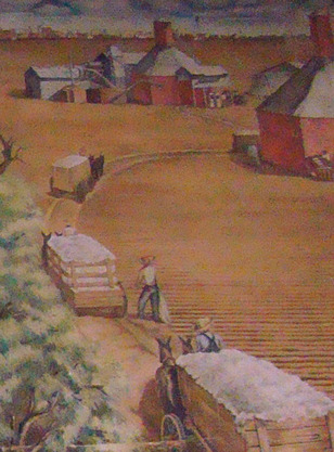 Cotton Gin - Robstown Texas PO Mural