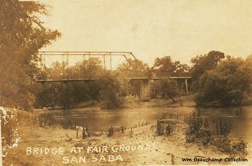 San Saba, Texas - Bridge at Fairgounds
