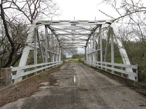 Caldwell County TX 1931 Plum Creek Bridge in Luling
