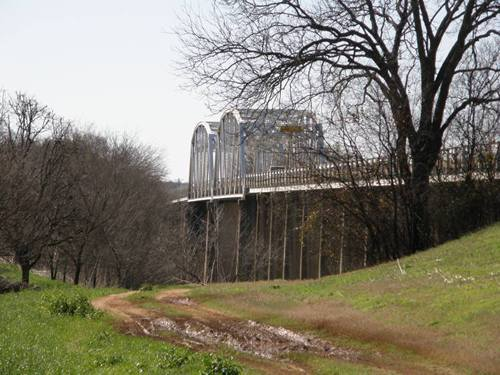 Goldthwaite TX SH16 Thru Truss Bridge Over Colorado River