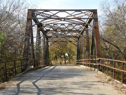 San Saba County Bridge on CR110