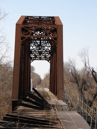 Wallis Tx - Abandoned RR Thru Truss