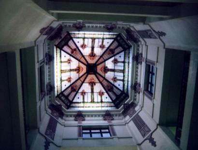 Skylight of Cooke CountyCourthouse, Gainesville, Texas