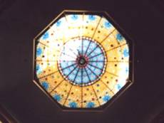 Skylight of Coryell CountyCourthouse, Gatesville, Texas