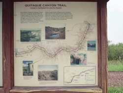 Quitaque Canyon Trail, Texas