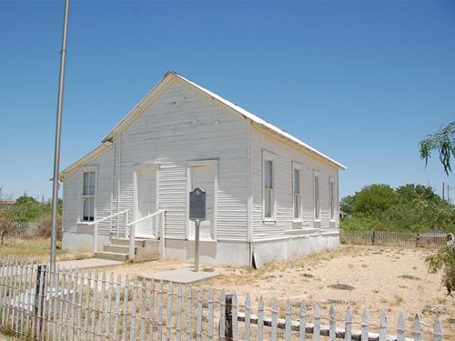 Hovey Schoolhouse - Fort Stockton, Texas