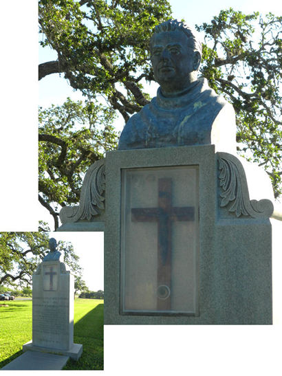 Panna Maria TX priest memorial