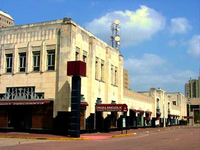 The Kyle Block in Beaumont, Texas
