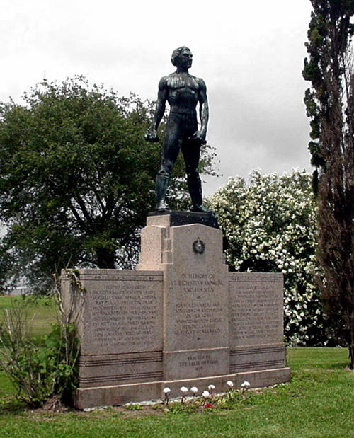 Dick Dowling Statue at the Sabine Battlefield State Park