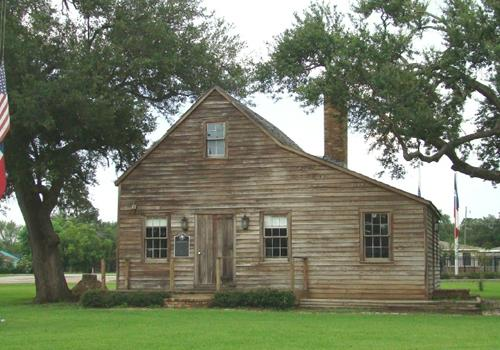 Replica of the First Capitol of The Republic of Texas in West Columbia