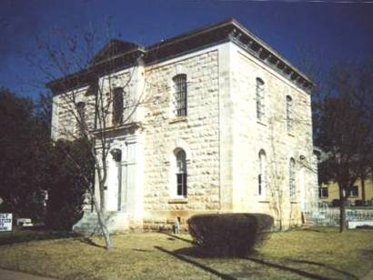 Burnet TX - Former Burnet County Jail