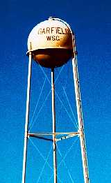 Garfied water tower