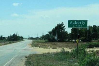 Ackerly Texas