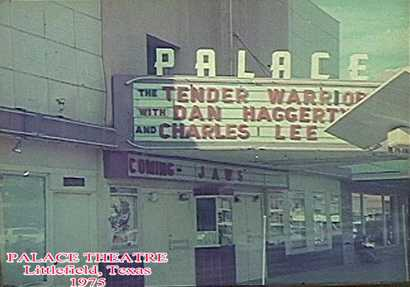 Littlefield Texas Palace Theatre 1975