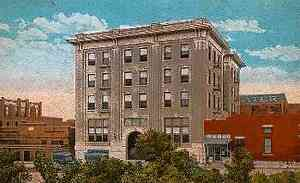 Texas postcard Mineral Wells, Crazy Water Hotel | eBay