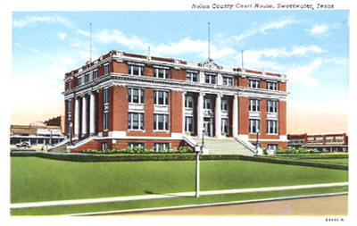 Nolan County Courthouse Sweetwater Texas