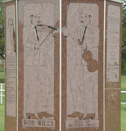 Turkey Tx - Bob Wills Monument