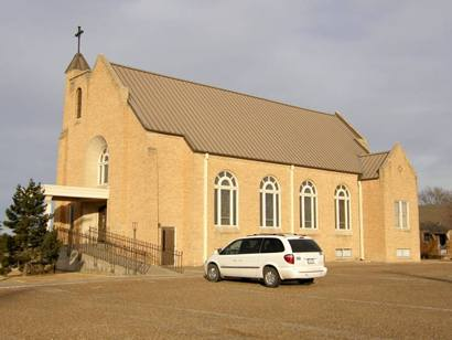 Umbarger Tx, St. Mary's Church