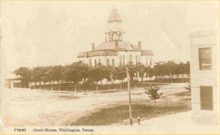 Collingsworth County Courthouse Wellington Texas