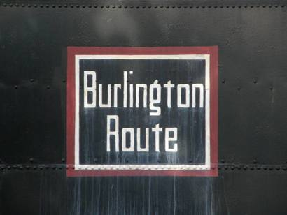 Wichita Falls Tx Burlington Route Logo