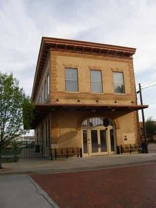 Wichita Falls Tx RailRoad Museum Building