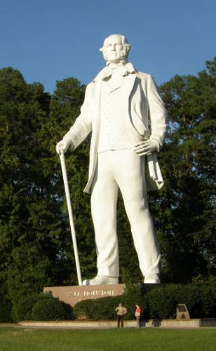Huntsville Tx - Sam Houston Statue