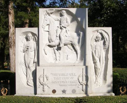 Huntsville Tx - Sam Houston Memorial Grave and Monument