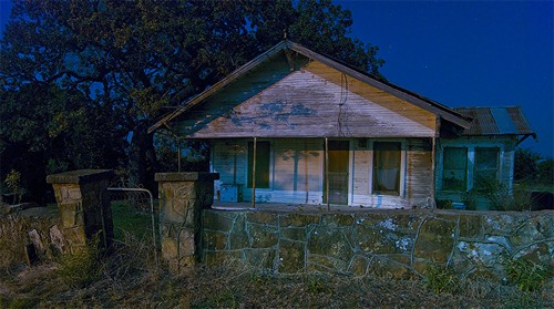 Ghost Town Eliasville TX house for sale