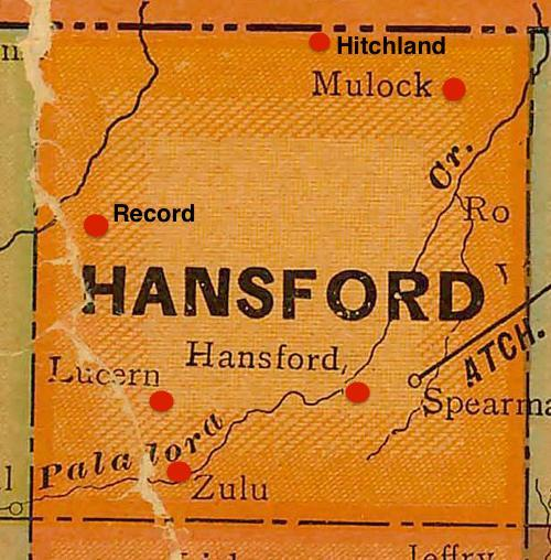 Hansford County Texas 1940s mp