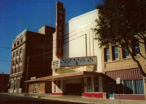 Majestic Theatre, Eastland, Texas