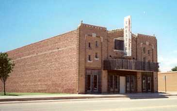 The English Theater, Tahoka, Texas
