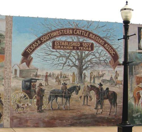 Graham texas history murals for Mural history