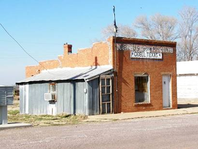 Odell Texas Post Office